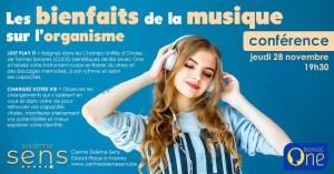 Conférence Les bienfaits de la musique sur l'organisme @ Centre Sixième Sens | Frasnes-lez-Anvaing | Wallonie | Belgium