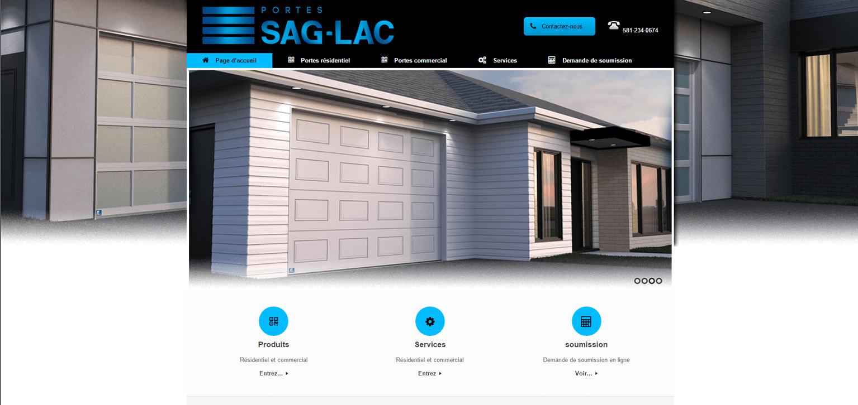 Portes Sag Lac division portes de garages