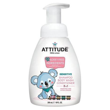gel lavant bébé attitude