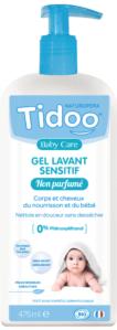gel lavant sensitif non parfumé bébé bio tidoo quel gel lavant choisir lesptitesmainsdabord