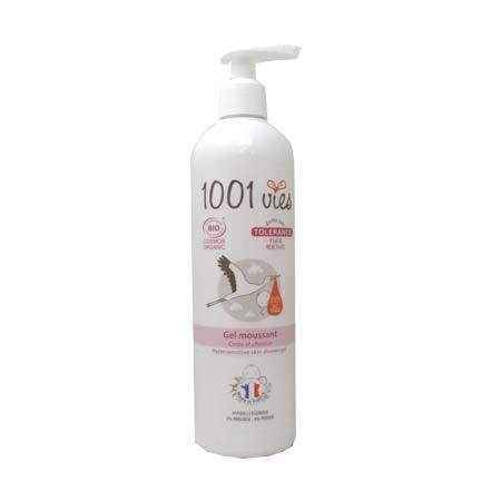 gel moussant tolérance bébé bio 1001 vies