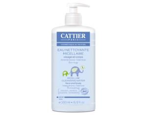 eau nettoyante micellaire bébé bio cattier