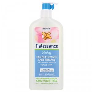 eau nettoyante sans rinçage bébé natessance