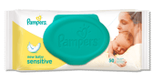 lingettes pampers new baby sensitive