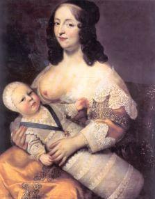 louis XIV et sa nourrice nourrices d'hier et d'aujourd'hui lesptitesmainsdabord