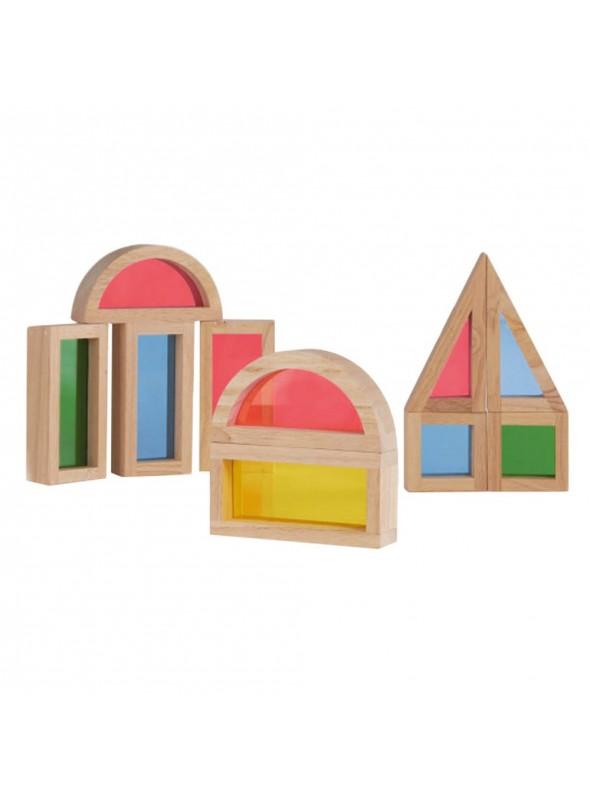 bloc de construction multicolore cadeau 3 ans