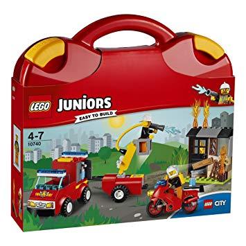 lego juniors pompier quatre ans cadeau