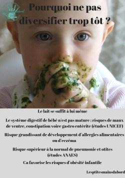 diversifier bébé risques