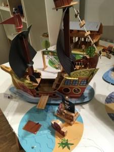 bateau pirate lesptitesmainsdabord journée presse jeux et jouets 2020 idées cadeaux Noël