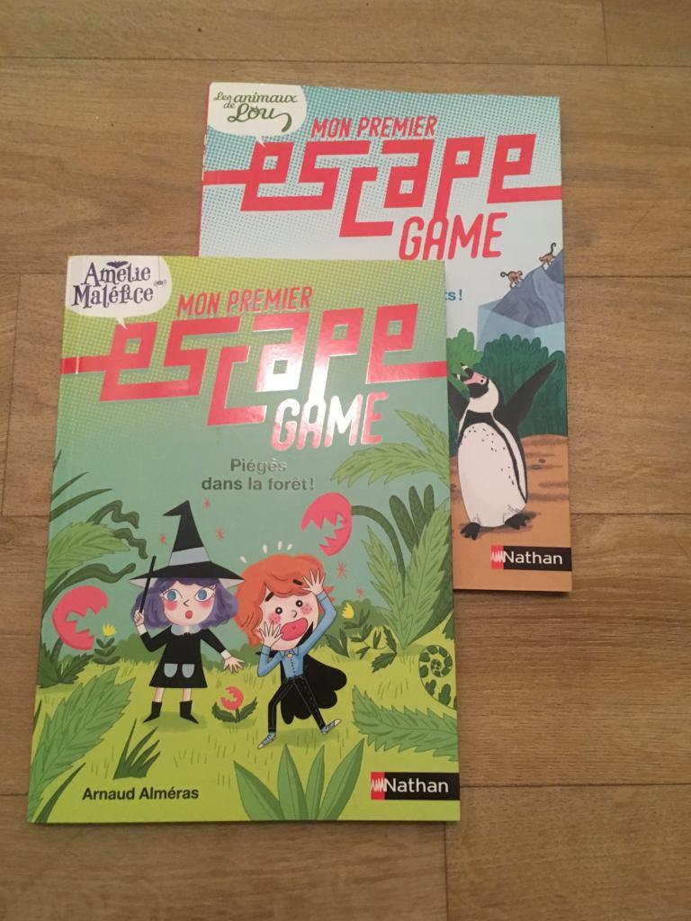 mon premier escape game sélection livres jeux