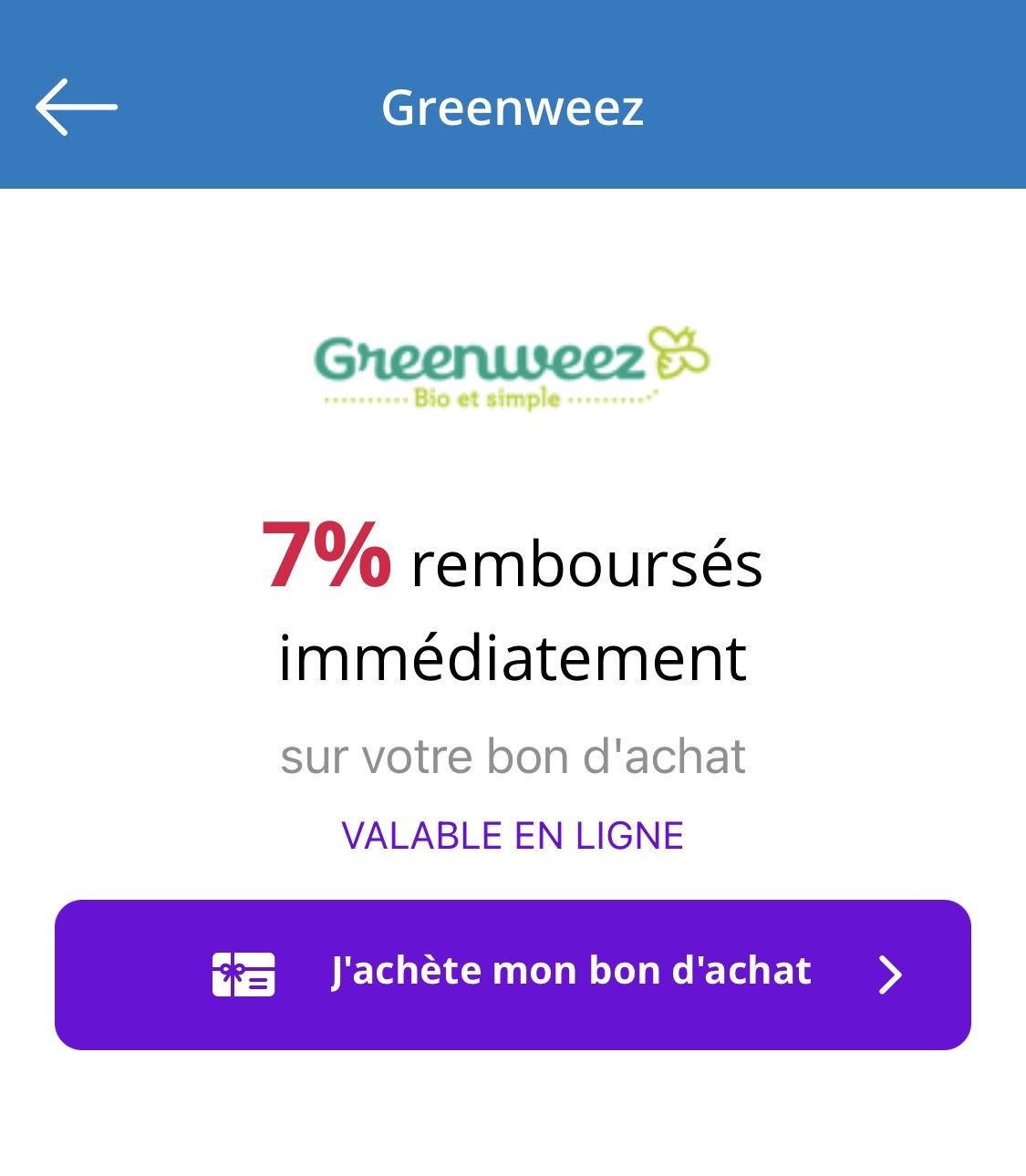 Bon Plan Greenwez / Ebuyclub