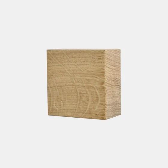 cube en bois magnetique