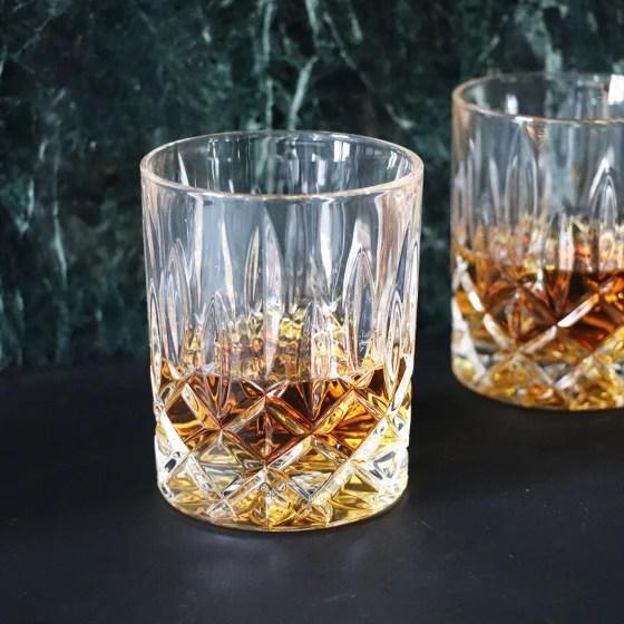 coffret de quatre verres a whisky