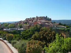 Village de Roussillon, le sentier des ocres