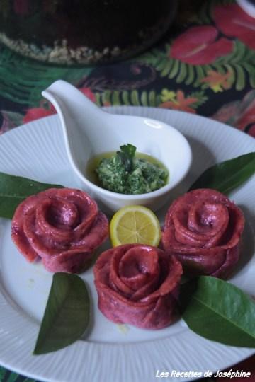 raviolis roses
