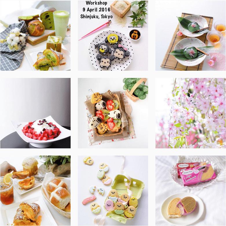 Mon top 5 Instagram cuisine