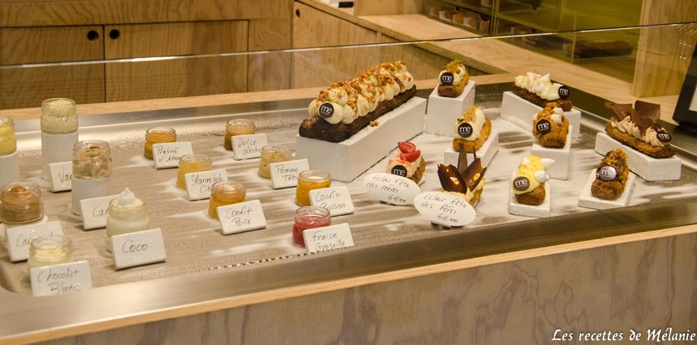 Balade culinaire dans Paris - Mon éclair