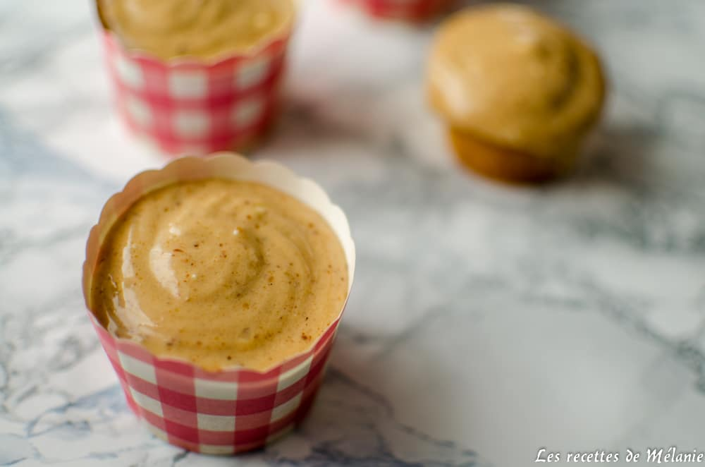 Cupcakes au praliné