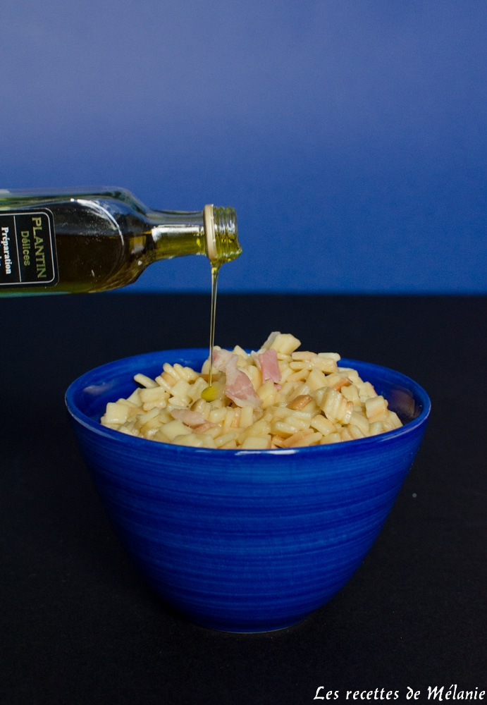 Crozetto à l'huile de truffe