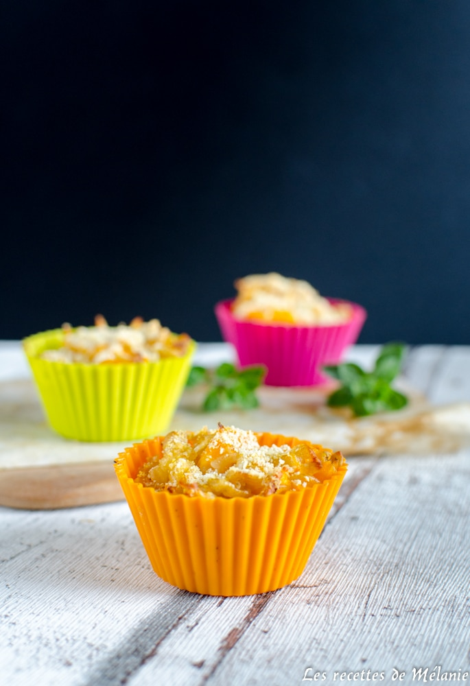 Mini Mac and cheese à la courge - Bataille food #43