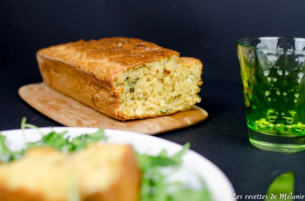 Cake Poulet Olive Chevre