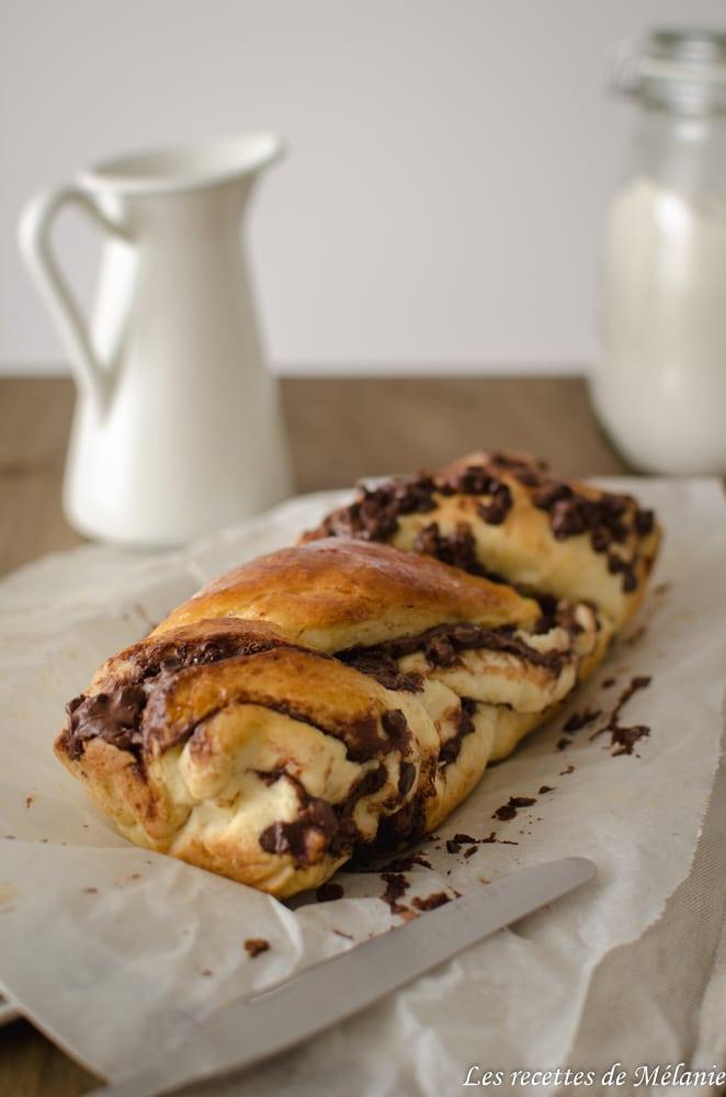 Brioche à la Nocciolata et pépites de chocolat
