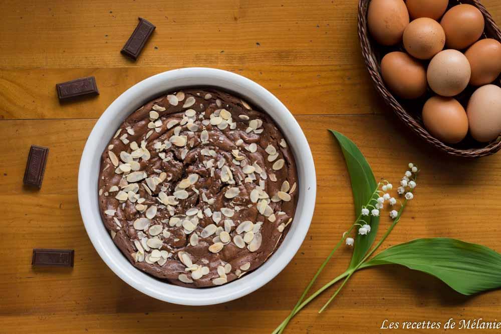 Gâteau au chocolat et à l'avocat (sans beurre)