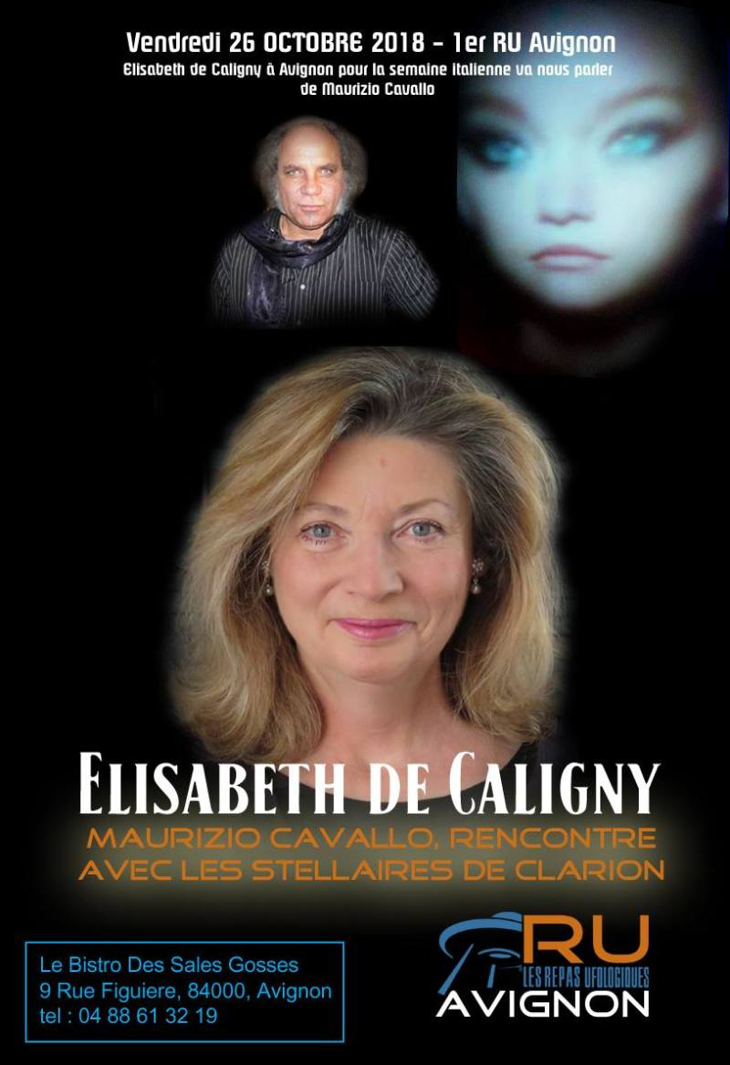 Compte rendu du 26 Octobre 2018 Maurizio Cavallo par Elisabeth de Caligny