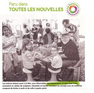 Jean-Yves, sur Alternatiba, pour Les Ressourceurs.
