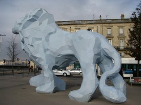 """Le Lion"", Xavier VEILHAN"