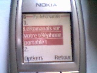 LeRomanais est désormais disponible sur les téléphones portables, merci Jérôme d'IFeedYou pour la photo