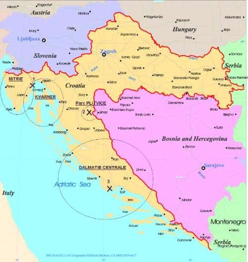 Notre séjour en Istrie (Istra) en Croatie 1