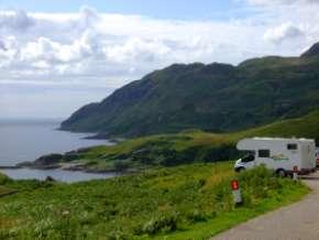 L'Ecosse en camping-car en itinérant : région d'Edimburgh 19