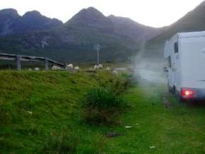 L'Ecosse en camping-car en itinérant : région d'Edimburgh 62