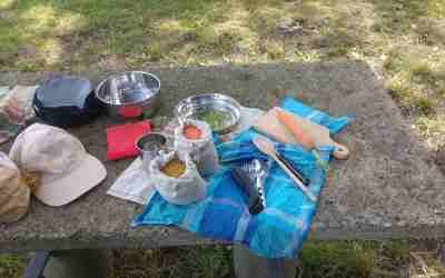 Le matériel de cuisine nomade