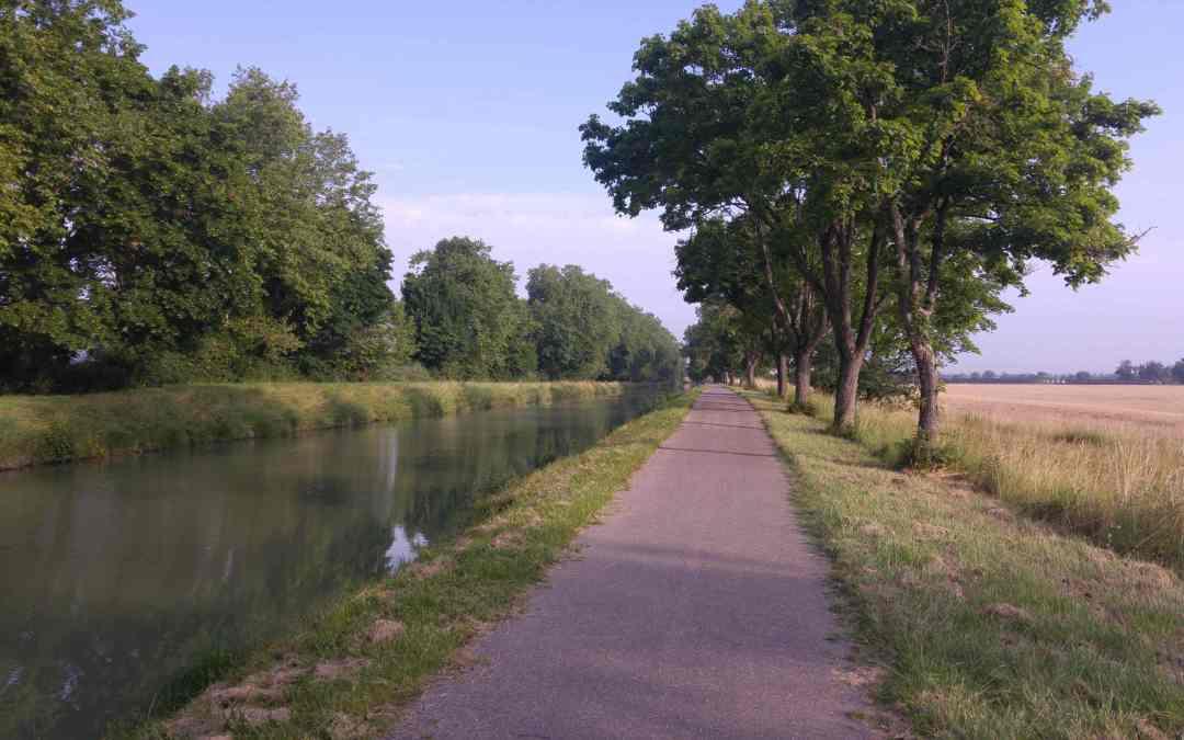 Étape 1 : Grenade sur Garonne – Sérignac (c'est reparti !)