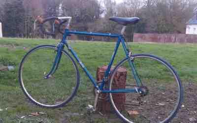 Modernisation Gitane 2 – rechercher le vélo et les pièces