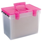 Plastic Filing Box