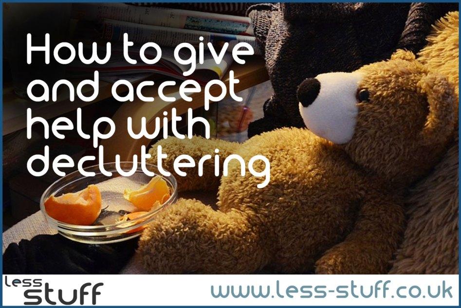 decluttering help