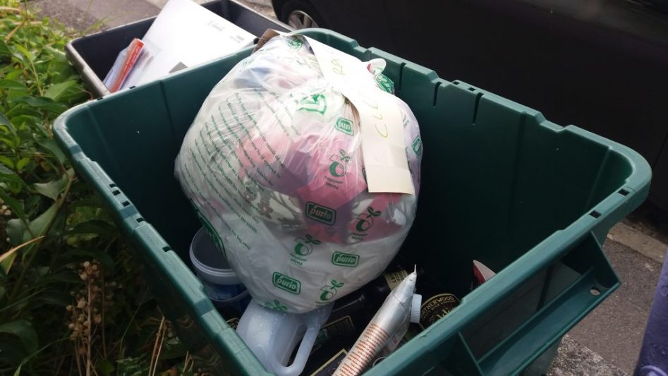 recycling before plastic free july
