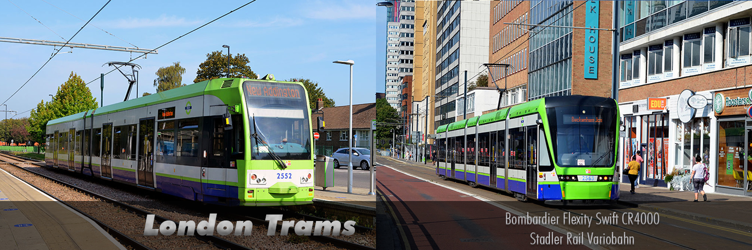 London Trams Images