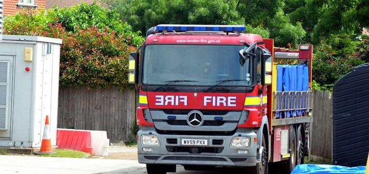 London Fire Brigade Mercedes Benz Actros Bulk Foam Unit WV59 PXX-BFU1