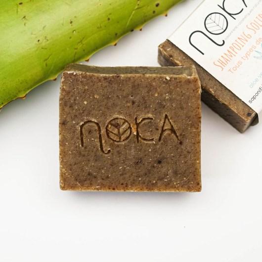 Shampoing Solide – Tous types de cheveux - Noka Cosmétiques - Savon solide saponifié à froid, surgras, naturel et bio, zéro déchet