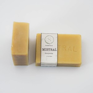 MISTRAL : LE SHAMPOING À LA BIÈRE - Sapognifique - Savon solide saponifié à froid, surgras, naturel et bio, zéro déchet