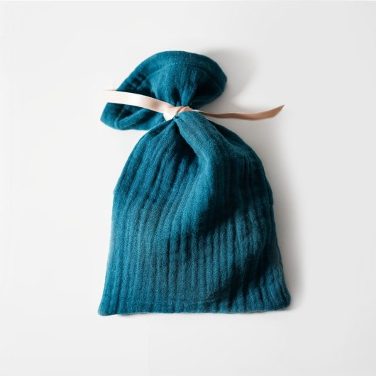 Petit pochon cadeau réutilisable Lagon - accessoire zéro déchet