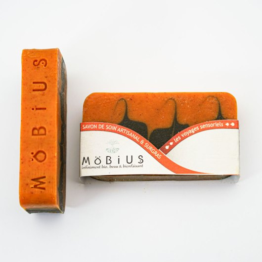 Savon solide Carotte & urucum - MöBiUS Cosmétiques