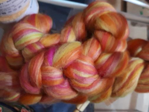 d'une fibre bien colorée