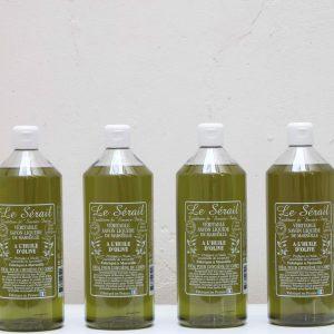 bidon de savon à l'huile d'olive de 1L