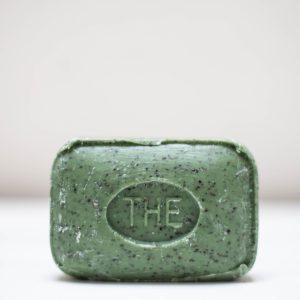 Savonnette de Marseille rectangulaire parfum thé vert