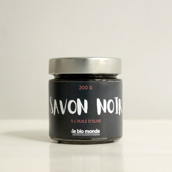 Savon Noir Corps et Visage 200grs